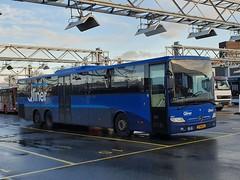 NLD Qbuzz 3671 ● Groningen Peizerweg (Roderik-D) Tags: qbuzz36503675 3671 groningengaragepeizerweg 17bfd9 2014 dieselbus mercedesbenz integro2 o550l capacity59421 isri qliner 2axle 2doors ivu gorba