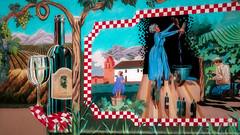 2008 Chardonnay (larwbuck) Tags: autumn california colors fall mural painting travel