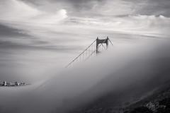 El Effee III (sberkley123) Tags: sausalito california goldengatebridge nikon marin usa sunset z7 sanfrancisco batteryspencer marinheadlands 1430mm blackandwhite longexposure fog