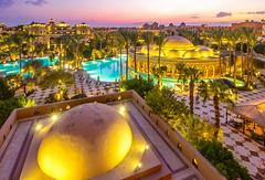 the Dome (werner boehm *) Tags: wernerboehm egypt restaurant makadipalace redsea nightshot nachtaufnahme