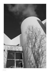 Angles & Cloud (Michael Fleischer) Tags: building window architecture shadow cloud sky lines angles blackwhite monochrome tamron sp 35mm f14 di usd nikon d810 structure diagonal