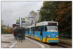 Tram Chemnitz - 2019-17 (olherfoto) Tags: tram tramcar tramway villamos strasenbahn strassenbahn chemnitz cvag tatra tatratram