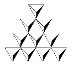 Tetraktys from Pyramids (zeevveez) Tags: זאבברקן zeevveez zeevbarkan photoshop geometry tetraktys