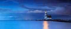 Marken lighthouse (lavignassey) Tags: phare lighthouse marken netherlands paysbas panorama