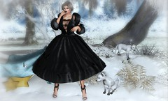 WILL YOU TAKE ME DANCING IN THE SNOW (Rachel Swallows Inworld Elenamicheals Core) Tags: bishesinc christmas ebento fashion foxes fur legacy luas moeko secondlife snow tmcreation treschic winter