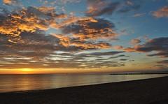 Before Sunrise - Antes del amanecer (En memoria de Zarpazos, mi valiente y mimoso tigre) Tags: clouds skyscape seascape sea beach sunrise amanecer alicante campello playa spiaggia alba aurora