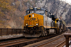 train at Harper's Ferry (Hayseed52) Tags: harpersferry westvirginia train tracks tunnel noise