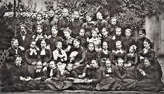 intstitution de jeune fille à Saint Mandé, année 1875 - 1876... Collection Reynald ARTAUD (Reynald ARTAUD) Tags: 1875 1876 xix siècle fin france saint mandé institution jeunes filles collection reynald artaud