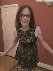 November 2019 (Girly Emily) Tags: crossdresser cd tv tvchix transvestite transsexual tgirl tgirls convincing feminine girly cute pretty sexy transgender boytogirl mtf maletofemale xdresser gurl glasses dress hull smile hosiery tights hose trans lgbt lgbtq