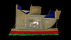 India - Rajasthan - Jodhpur - Mehrangarh Fort - Museum - Elephant Howdah - 57d (asienman) Tags: india rajasthan jodhpur mehrangarhfort elephanthowdah asienmanphotography