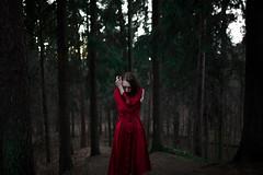 Катя (a.strelkovv) Tags: film forest light melanholy tilt ugly girl