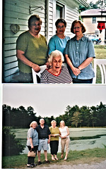 Dianne Jean Lail and family 3 (Michael Vance1) Tags: woman wife sister daughter twin family girl granddaughter grandmother oklahoma mother love aunt