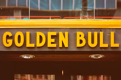 The Golden Bull (Thomas Hawk) Tags: california usa bar america oakland unitedstates unitedstatesofamerica bull bayarea eastbay sfbayarea goldenbull thegoldenbull fav10 fav25