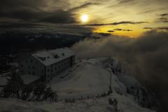 Rigi Kulm-Hotel - Schwyz - Schweiz (Felina Photography - www.mountainphotography.eu) Tags: rigi kulm hotel schwyz schweiz mountain photography sunset sonnenuntergang switzerland mountainphotography felina felinafoto 65za
