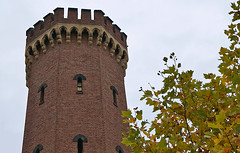Cologne Malakoff Tower 1 (hermann.kl) Tags: köln cologne festung fortification turm tower ziegel brick rheinauhafen