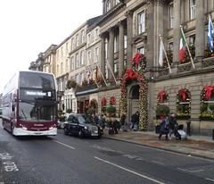 Lothian 214 on George Street, Edinburgh. (calderwoodroy) Tags: bus scotland edinburgh georgestreet doubledecker lothian lothian100 lothianbusescentenary lothianbuses edinburghtransport transportforedinburgh 214 service10 sn61bcf georgehotel intercontinentaledinburghthegeorge adl alexanderdennis enviro400h