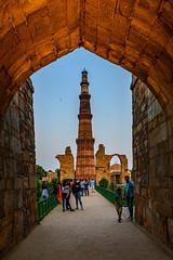India - Qutab Minar - World Heritage - 0290 (Peter Goll thx for +14.000.000 views) Tags: qutabminar indien 2019 delhi neudelhi weltkulturerbe worldheritage india travel reisen