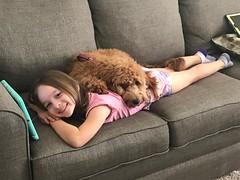Nala and her human