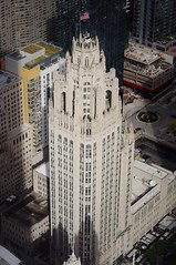 Tribune Tower (michael.veltman) Tags: tribune tower chicago illinois from above michigan avenue