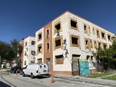 Building Renovation Little Havana 1925 (Phillip Pessar) Tags: miami little havana building architecture 1925 apartment renovation
