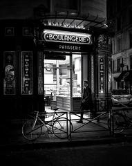 Paris, boulangerie, patisserie (christiandumont) Tags: monochrome blackandwhite blackwhite streetphotography streetphoto streetlife street noiretblanc bw nb x100f fujifilm black white passion award