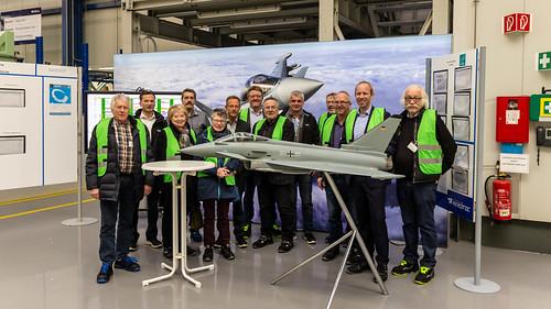 Besuch des Werks der Premium AEROTEC GmbH in Varel mit der SPD Wiefelstede.