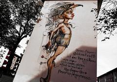 My Super Hero Power... (JB Fotofan) Tags: fz1000 lumix hauswand graffiti herakut mannheim wallpainting mural wandgemälde wandbild