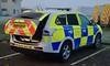 Cambridgeshire Police Mitsubishi Outlander Dog Unit