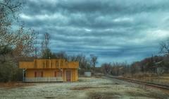 The end of the line.... (Sherrianne100) Tags: moody dilapidated abandoned traintracks railroadtracks springfieldmo ozarks missouri