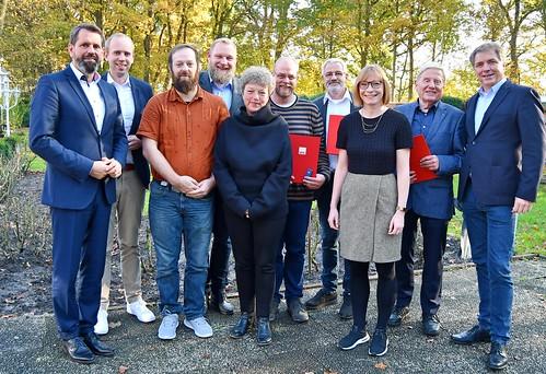 Die SPD Eversten hat langjährige Mitglieder geehrt - natürlich bin ich dabei gewesen.