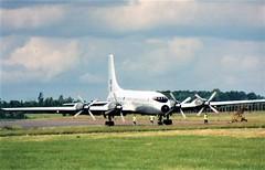 'Brit' Engine Run (Gerry Rudman) Tags: bristol 175 britannia xm496 kemble 2000 engine run raf transport command
