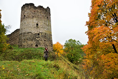 Koporye fortress. Autumn. (anytime-anywhere) Tags: autumn october 2019 autumngirl fortress koporye