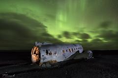 Thank you Fletcher. (Felipe Carrasquilla Campaña) Tags: noche nocturna noctambulos night nightphotography nightscape largaexposición longexposure islandia iceland abandonos avion auroras northen lights