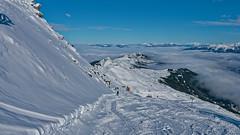 P1050187_DxO (Lumières Alpines) Tags: didier bonfils goodson goodson73 lumieres alpines europa outside rando mountain montagne automne sky ciel bleu blue cloud neige snow soleil le pleynet les 7 laux ski
