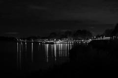 20191119-14290-A7RM2 ontwikkeld verscherpt B&W (Harm vb) Tags: gorinchem haven harbour veer ferry bw zwartwit avond licht sony a7r2 a7rm2 50mmf17