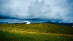 Iceland (andreasbalevik) Tags: fuji x100 iceland fujifilm landscape house flowers field