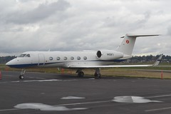 N458FX (LAXSPOTTER97) Tags: n458fx gulfstream aerospace g450 flexjet cn 4238 airport airplane aviation kpdx