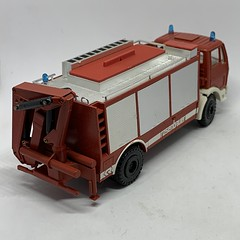 Conrad Germany -  Model Number 3090 - Mercedes Benz / Rosenbauer Emergency Tender / Rescue Truck Fire Appliance / Apparatus - Miniature Diecast Metal Scale Model Emergency Services Vehicle (firehouse.ie) Tags: et rescue emergency fd rosenbauer fire benz brigade apparatuses apparatus appliances appliance