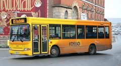 Transdev Rosso 714 YJ04LXX working Rochdale local services. (Gobbiner) Tags: dart transdevrosso yj04lxx dennis 714 transbus transdevyork keighleydistrict