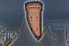 What do you mean, overedited? (hermann.kl) Tags: köln cologne festung fortification turm tower ziegel brick rheinauhafen
