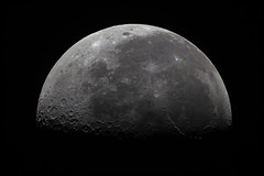 20191119 Moon (Roger Hutchinson) Tags: canoneos6d canonphotography canon celestronedgehd11 celestron astronomy astrophotography space london moon