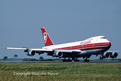 BOEING 747-133 C-FTOC AIR CANADA (shanairpic) Tags: jetairliner passengerjet b747 boeing747 jumbojet shannon aircanada cftoc