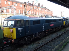 Locomotive Services Limited 87002 at Crewe (Rorymacve Part II) Tags: emu diesel express multipleunit rail train electriclocomotive passenger shunter trains dmu branch diesellocomotive class engine mainline railways steamlocomotive locomotive freight railway track