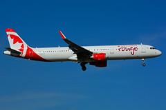C-GJTX (Air Canada - rouge) (Steelhead 2010) Tags: aircanada rouge airbus a321200 a321 yyz creg cgjtx