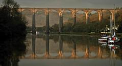 le viaduc de port-launay (eric-foto) Tags: pennarbed nikond800 portlaunay finistère reflets pont viaduc architecture bretagne breizh bzh brittany