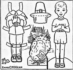 THANKSGIVING CUT OUT (Kleiaa) Tags: thanksgiving thanksgivingpaperdoll pilgrim pilgrimpaperdoll paperdoll