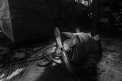 Fil d'Ariane très résistant (Cyrille Gr) Tags: lavoirii lavoir decay usine charbon chavannes bourgogne urbex