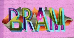 Graffiti in Amsterdam (wojofoto) Tags: amsterdam nederland netherland holland ndsm legalwall graffiti streetart wojofoto wolfgangjosten bram evolve