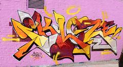 Graffiti in Amsterdam (wojofoto) Tags: amsterdam nederland netherland holland ndsm legalwall graffiti streetart wojofoto wolfgangjosten eklor