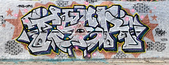 Graffiti in Amsterdam (wojofoto) Tags: amsterdam nederland netherland holland ndsm legalwall graffiti streetart wojofoto wolfgangjosten resta rest4